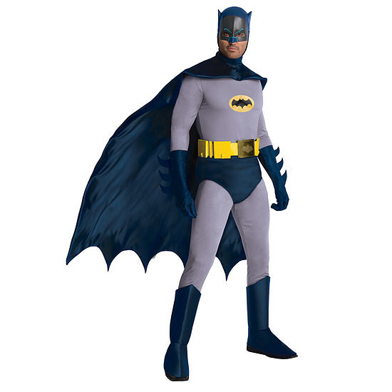 Batman Classic 1966 Series Grand Heritage Batman Adult Costume - One Size Fits Most