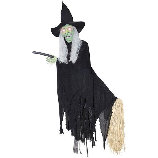 Lifesize Animated Flying Witch