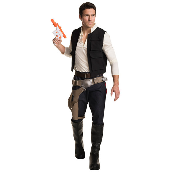 Star Wars: Han Solo Grand Heritage Adult Costume -One Size Fits Most