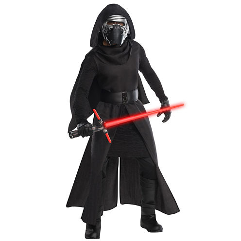 Star Wars: The Force Awakens - Kylo Ren Grand Heritage Adult Costume- One Size Fits Mots