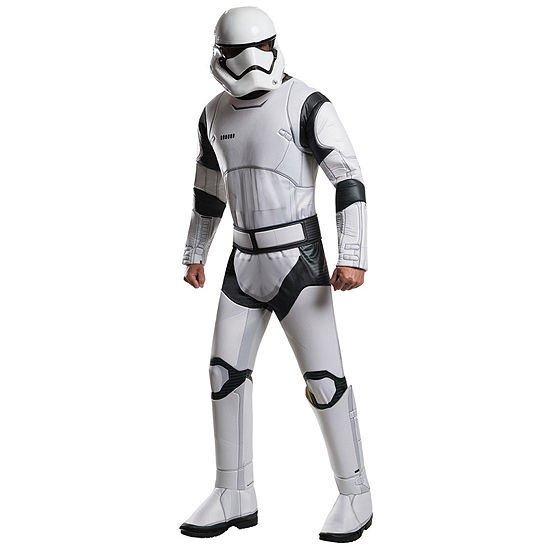 Star Wars The Force Awakens Deluxe Stormtrooper Costume For Men One Size Fits Most