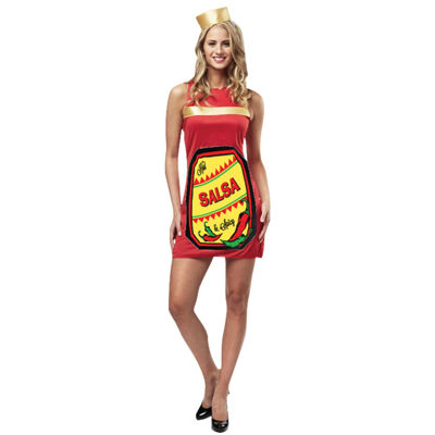 Salsa Dress Womens Costume - One-Size Fits Most