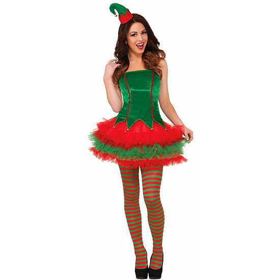 Sassy Elf Adult Costume Womens Costume