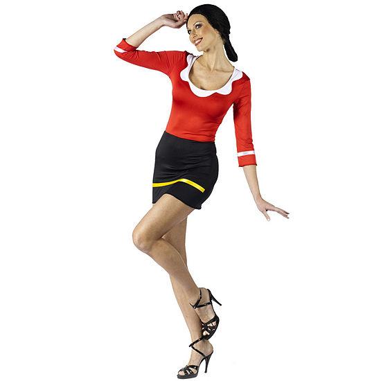 Popeye: Sexy Olive Oyl Adult Costume Womens Costume