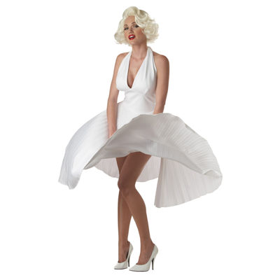 Marilyn Monroe Deluxe Pleated Adult Costume