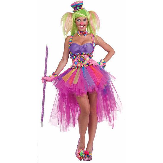 Tutu Lulu The Clown Adult Costume - One Size FitsMost