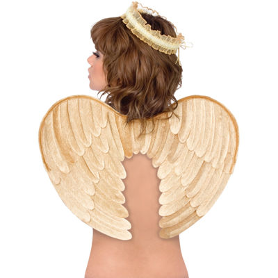 Velvet Angel Wings & Halo Gold