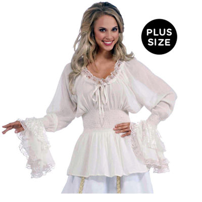 Medieval Lady Blouse Adult Costume