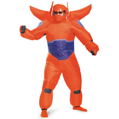 Big Hero 6: Red Baymax Inflatable Adult Costume Standard One-Size