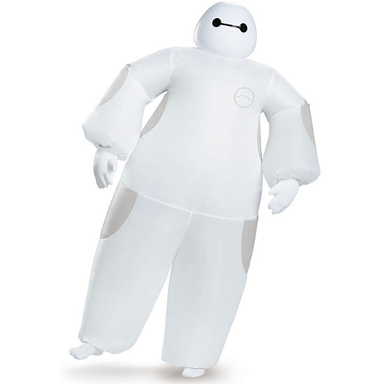 Big Hero 6: White Baymax Inflatable Adult CostumeStandard One-Size