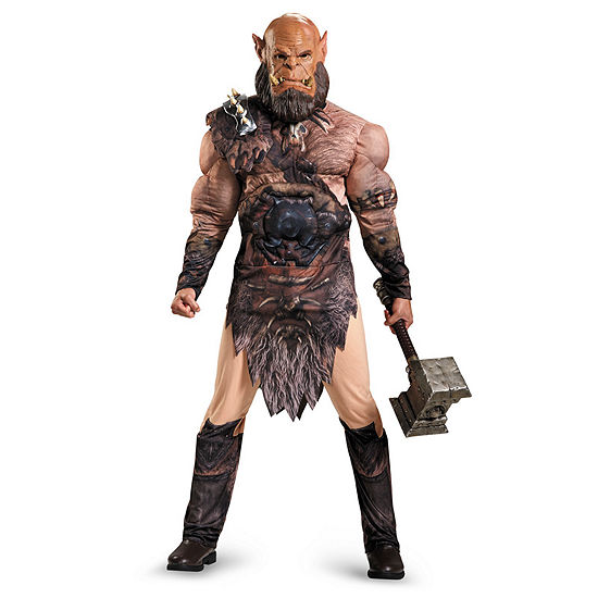 Warcraft Orgrim Deluxe Muscle Adult Costume Mens Costume