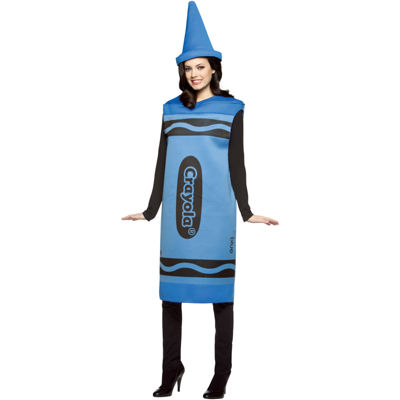 Blue Crayola Crayon Adult Costume