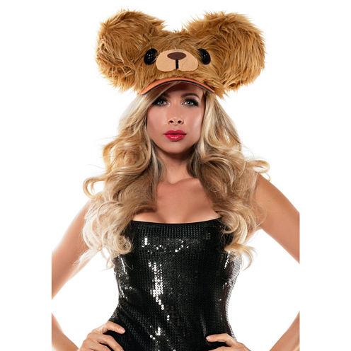 Brown Bear Fuzzy Hat