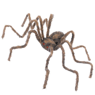 """50"""" Hairy Posable Spider"""""""