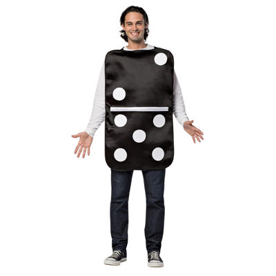 Build Your Own Domino Costume For Adults - One-Size