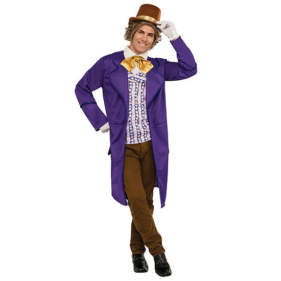 Willy Wonka & the Chocolate Factory Willy Wonka Deluxe Adult Costume - One Size Fits Most