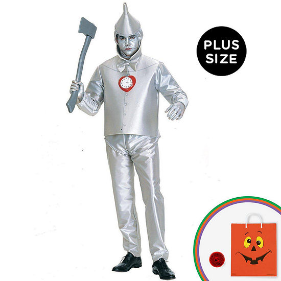 The Wizard of Oz Tin Man Adult Plus Costume - PlusSize
