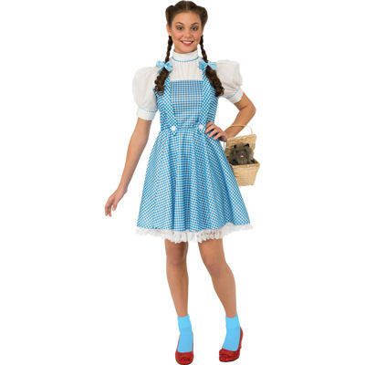 Wizard Of Oz Dorothy Adult Costume - One Size FitsMost