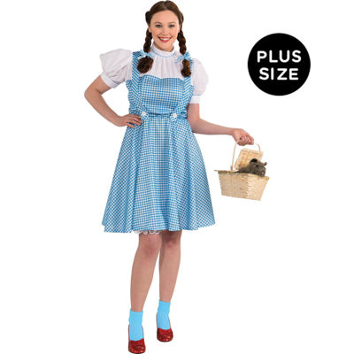 The Wizard Of Oz Dorothy Adult Plus Costume