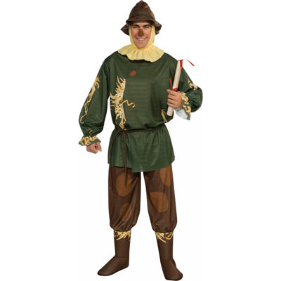 The Wizard Of Oz Scarecrow Adult Costume Mens Costume Mens Costume