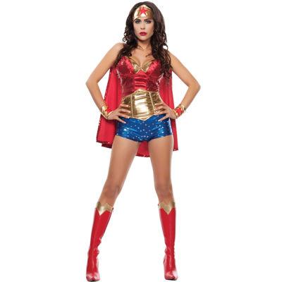 Wonder Lady Adult Costume