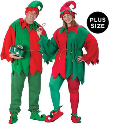 Classic Elf Adult Plus Costume