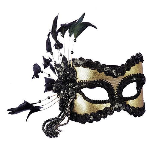Carnival Mask Black/Gold
