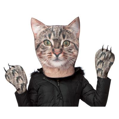 Cat Head & Paws Adult Costume