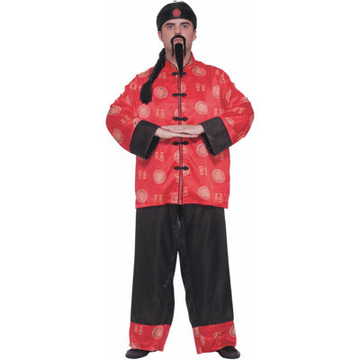 Chinese Gentleman Adult Costume - One Size Fits Most Adults