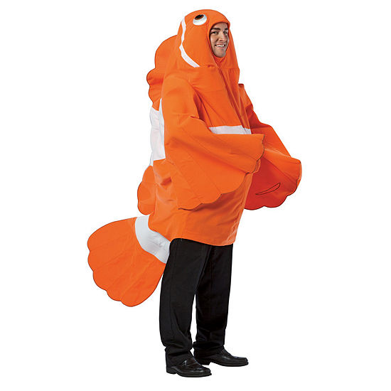 Clown Fish Adult Costume - One-Size
