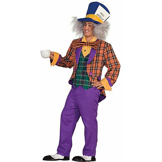 Plaid Mad Hatter Adult Costume