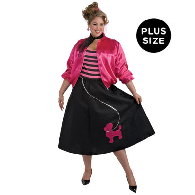 Poodle Skirt Adult Set