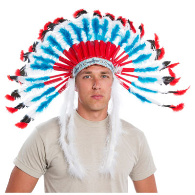 Western Authentic Indian Headress