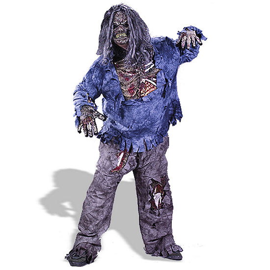 Zombie 3d Adult Costume One Size Fits Most