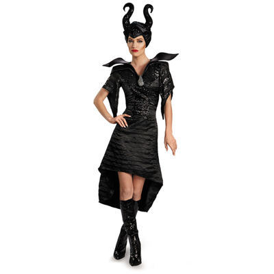 Disney Maleficent Glam Christening Glown Short Adult Deluxe Costume