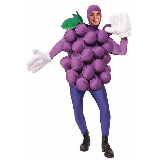 Purple Grapes Adult Unisex Costume