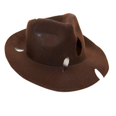 DLX Freddy Replica Fedora Adult Costume