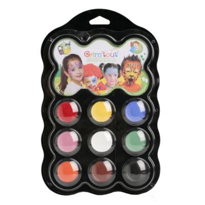Grim 'tout - 9 Carnival Color Face Paints