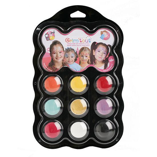 Grim 'tout - 9 Princess Color Face Paints