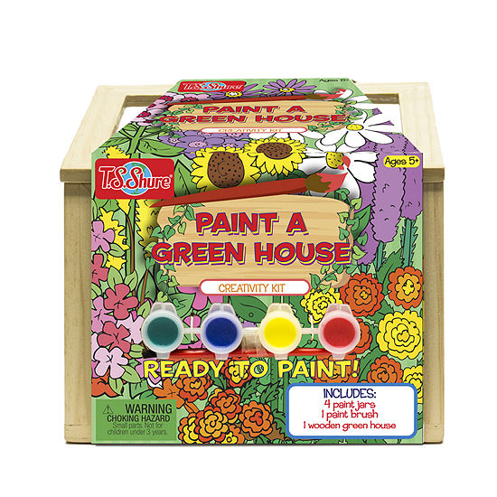 Ts Shure Wooden Paint A Greenhouse