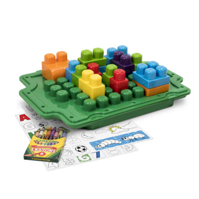 Amloid Corporation - Crayola 25 Piece 2-in-1 Activity Tray