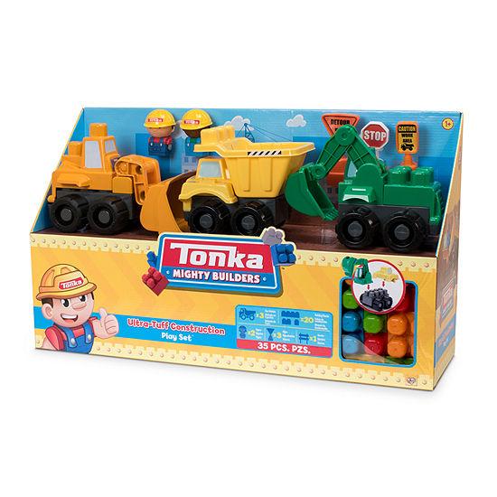 Amloid Corporation - Tonka 35 Piece Ultra Tough Construction Playset