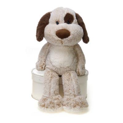 Fiesta - Fuzzy Folk 16 Inch James the Dog Plush