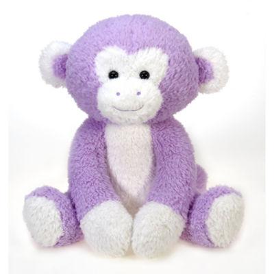 Fiesta - Scruffy 22 Inch Lavender Monkey Plush
