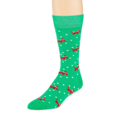 Reckless® 1 Pair Novelty Crew Socks