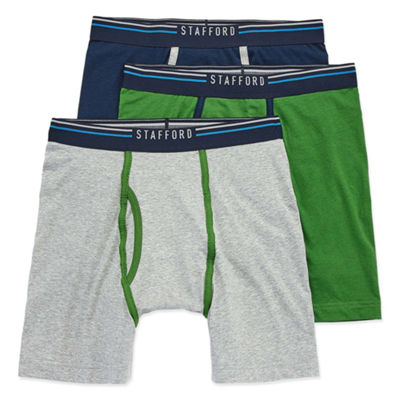 Stafford Life in Motion Move 3pc. Jersey Stretch Boxer Briefs