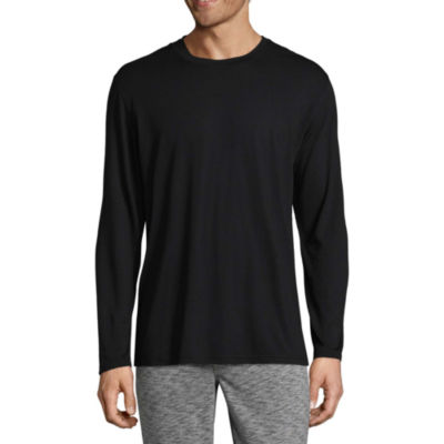 Van Heusen Men's Long Sleeve Knit Pajama Top - Big