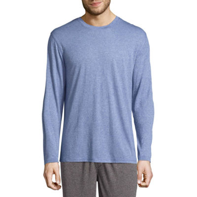 Van Heusen Men's Long Sleeve Knit Pajama Top - Big