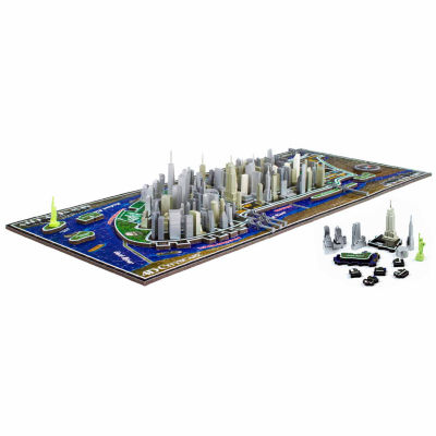 4D Cityscape New York City Time Puzzle