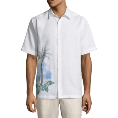 Havanera Short Sleeve Floral Button-Front Shirt